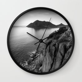 View from Chapman's Peak drive in Cape Town, South Africa Wall Clock