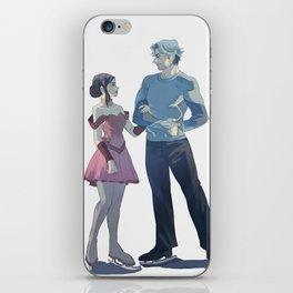Ice Twins iPhone Skin