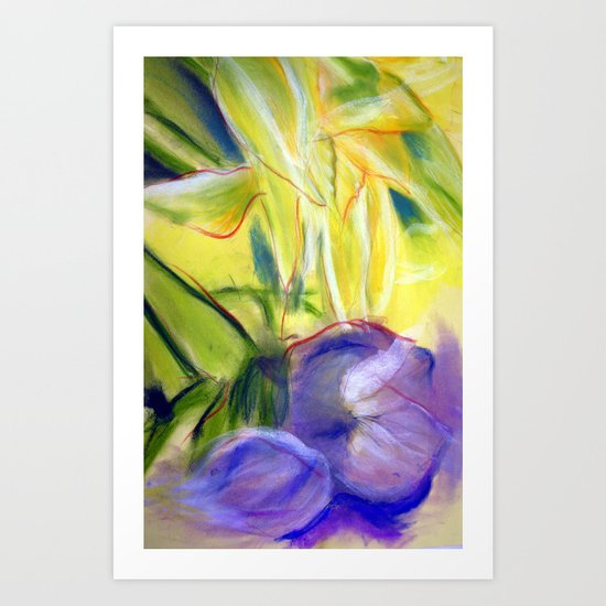 Rectory Series: Lily Art Print