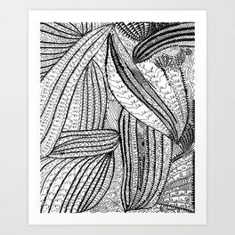 Cells by Yayoi kusam Art Print