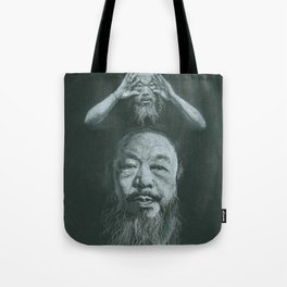 NEVER SORRY Tote Bag