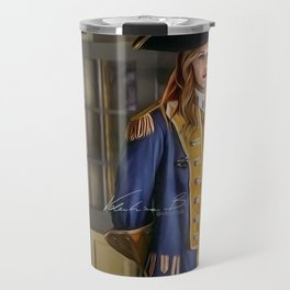 Commodore Kara Zor-El color version Travel Mug