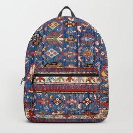 Daghestan East Caucasus  Antique Rug Print Backpack