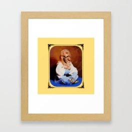 Boney Parton Framed Art Print