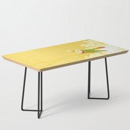 Spring Birds (Yellow) Coffee Table