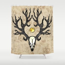 The Beast Shower Curtain