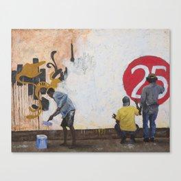 Pintores e Políticos Canvas Print