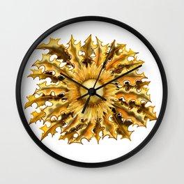 Eguzkilore Wall Clock