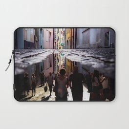 A Reflection of City Life by GEN Z Laptop Sleeve