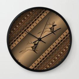 Elk Spirit (Brown) Wall Clock