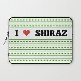 I Love Shiraz Laptop Sleeve