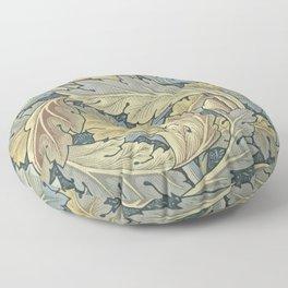 William Morris Acanthus Leaves Floral Art Nouveau Floor Pillow