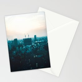 Osaka morning Stationery Cards