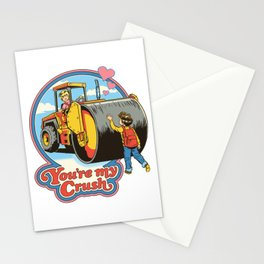 YOU'RE MY CRUSH Stationery Cards