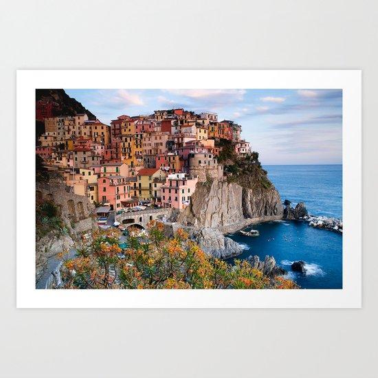 Italy Village Art Print