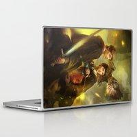 merlin Laptop & iPad Skins featuring BBC Merlin: Emrys Ascending  by mushroomtale