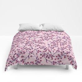 Purple Berries Comforters