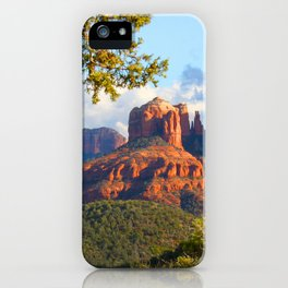 Cathedral Rocks of Sedona iPhone Case