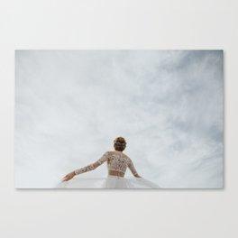 Love Sky Canvas Print