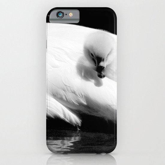 baby swan iPhone & iPod Case