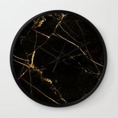 Black Beauty V2 #society6 #decor #buyart Wall Clock