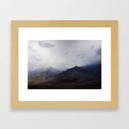 Cloudy Eastern Sierras Framed Art Print
