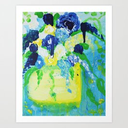Fine Art Flower Pot Darling Art Print