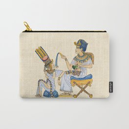 King Tut and Queen Ankhesenamun Carry-All Pouch