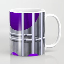 violet decoration Coffee Mug