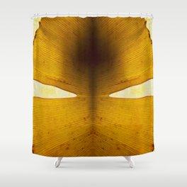 composition whith ginkgo biloa II Shower Curtain