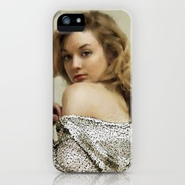 Emily I iPhone Case