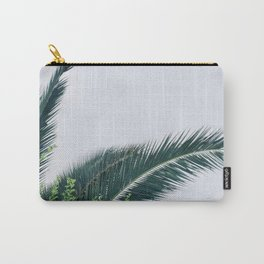 Natural Palm Story Carry-All Pouch