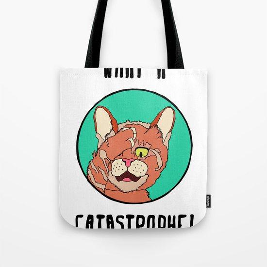 Catastrophe Cat Tote Bag