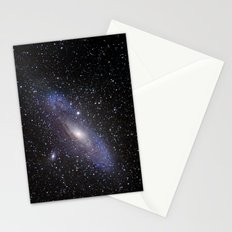 Galaxy Andromeda Stationery Cards