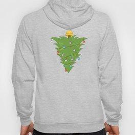 Upside Down Christmas Tree Xmas Hoody