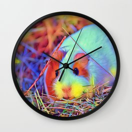 SmartMix Animal - Guinea Pig 3 Wall Clock