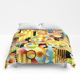 Art Deco Maximalist Comforters