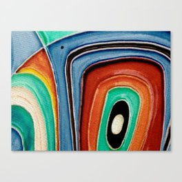 The Kandinsky's Chubby Bird 1 Canvas Print