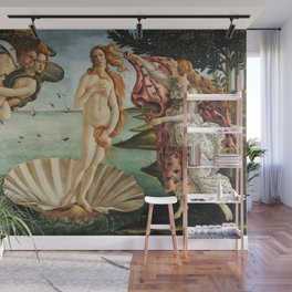 The Birth of Venus by Sandro Botticelli, 1445 Wall Mural