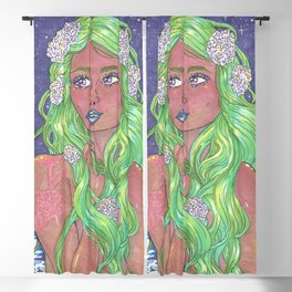 Maid in the Night Blackout Curtain