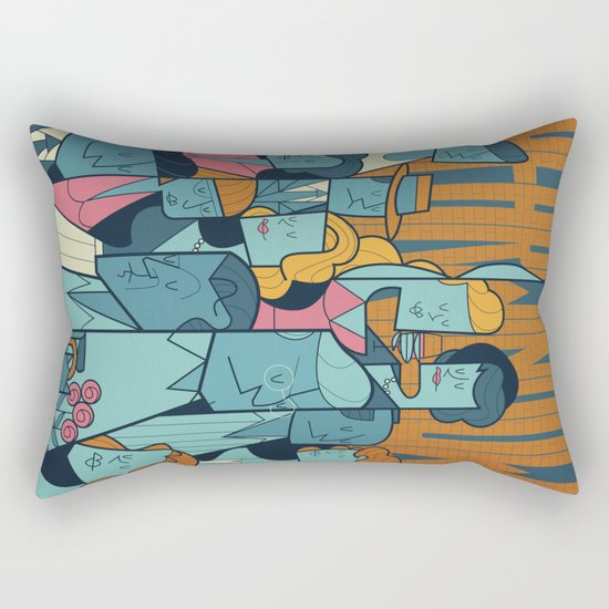 Rear Window Rectangular Pillow