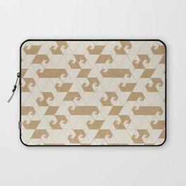 Fractal Wave L Laptop Sleeve