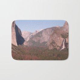 Yosemite Valley Tunnel View Bath Mat