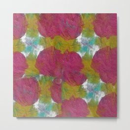 Abstract Tie Dye #1 Metal Print
