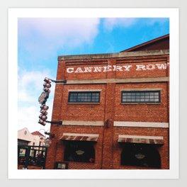 Cannery Row Art Print