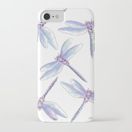 Dragonfly Dance iPhone Case