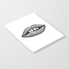 Kiss Thy Lips Notebook