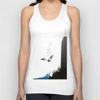 monster inc Tank Tops featuring Icarus, Inc. by Great Opportunitees