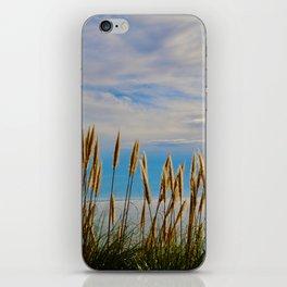 Fort Bragg's Ocean Cattails iPhone Skin