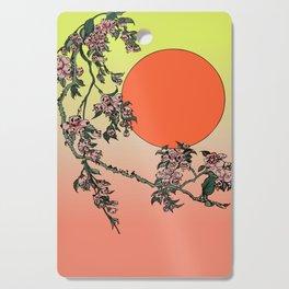 Pugry Blossom Cutting Board